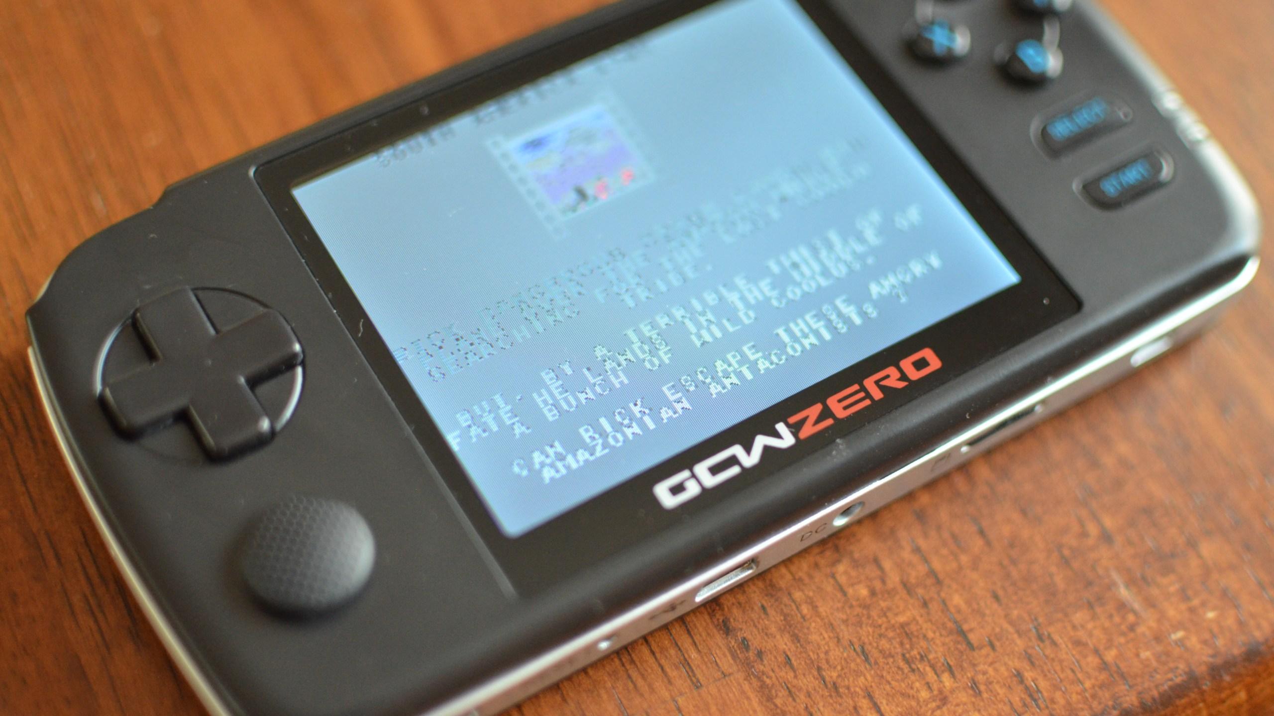 GCW-ZERO Open Source Portable Gaming Console