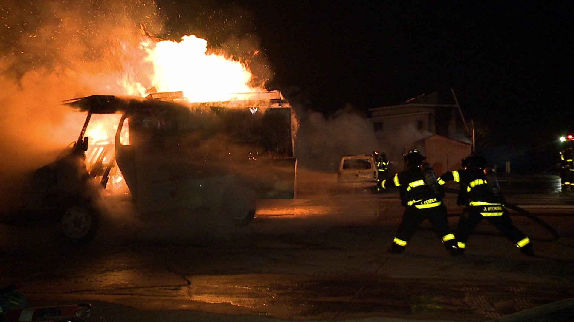 Firefighter recruits face tough test on 'Hell Night'