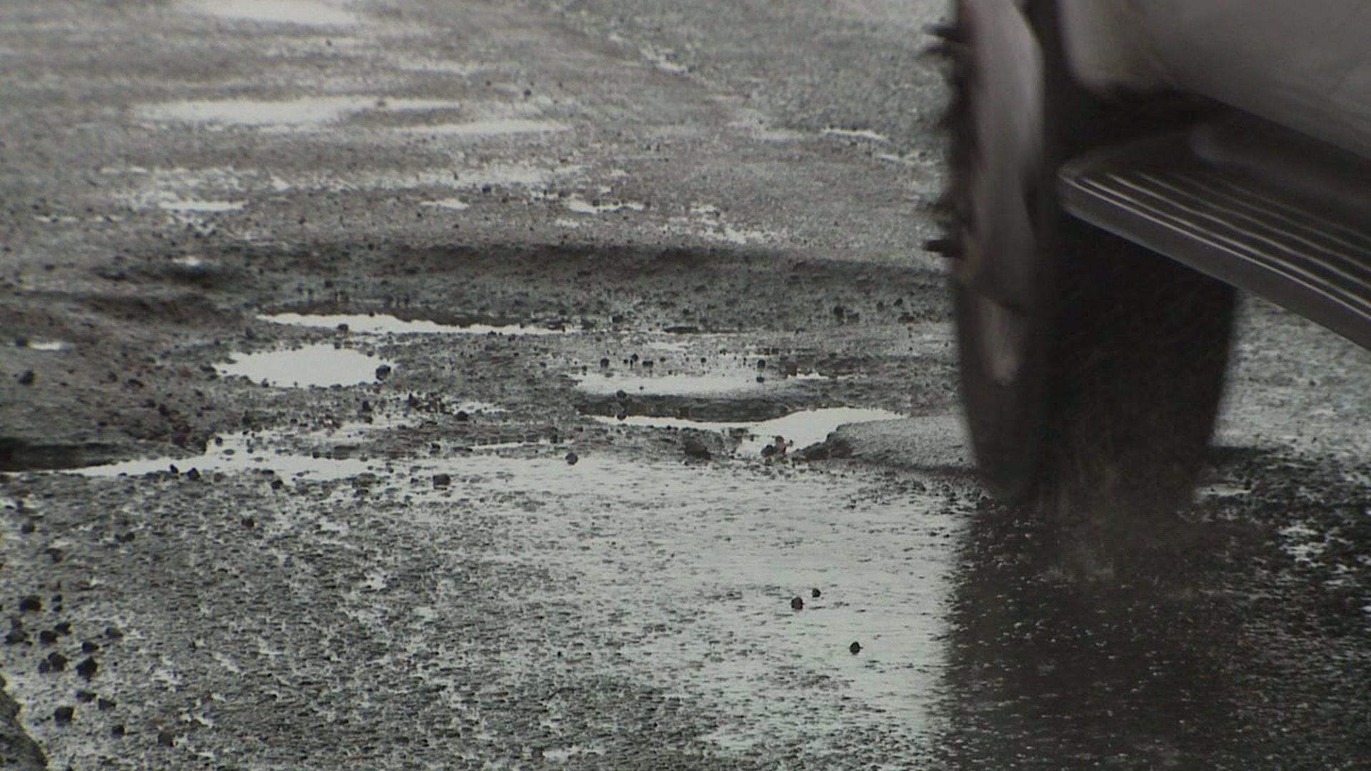 Pothole in Denver