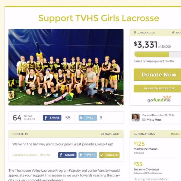 Youth sports teams find success in digital donations