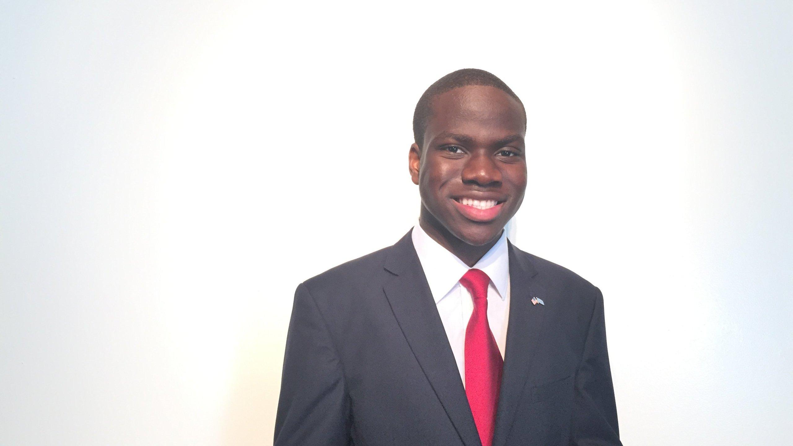 Harold Ekeh is a senior at Elmont Memorial High School in Elmont, New York.