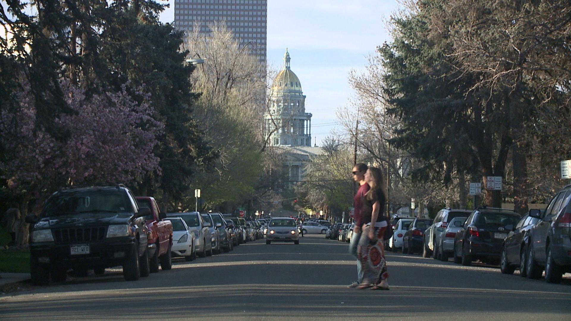 Capitol Hill neighborhood in Denver