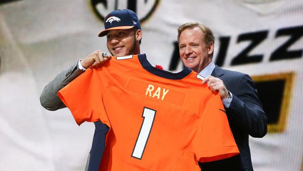 Broncos move up to draft Missouri DE Shane Ray; Manny Ramirez ...