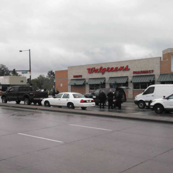 Police activity at Federal and Alameda in Denver