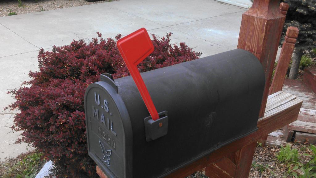 Mailbox in Thornton, Colo.