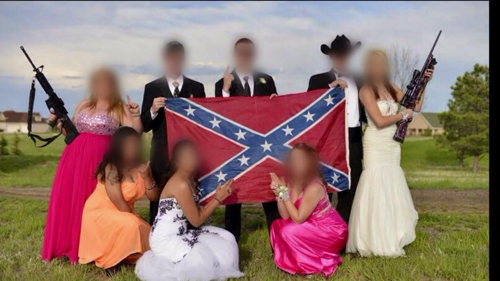 Controversial prom picture