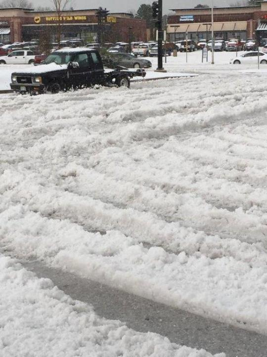 Hail in Colorado Springs. Courtesy: KRDO