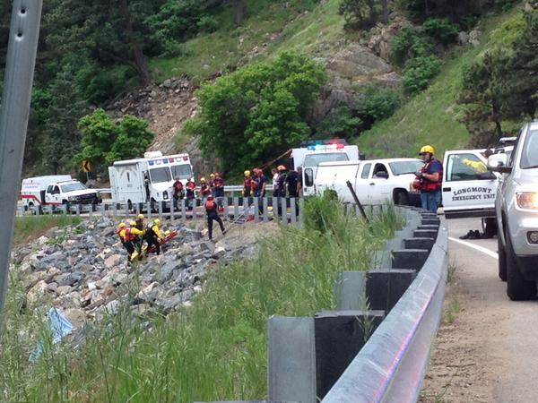 Recovery crews have brought up the body of a man in Boulder Creek found on June 15. (Photo: Tak Landrock)