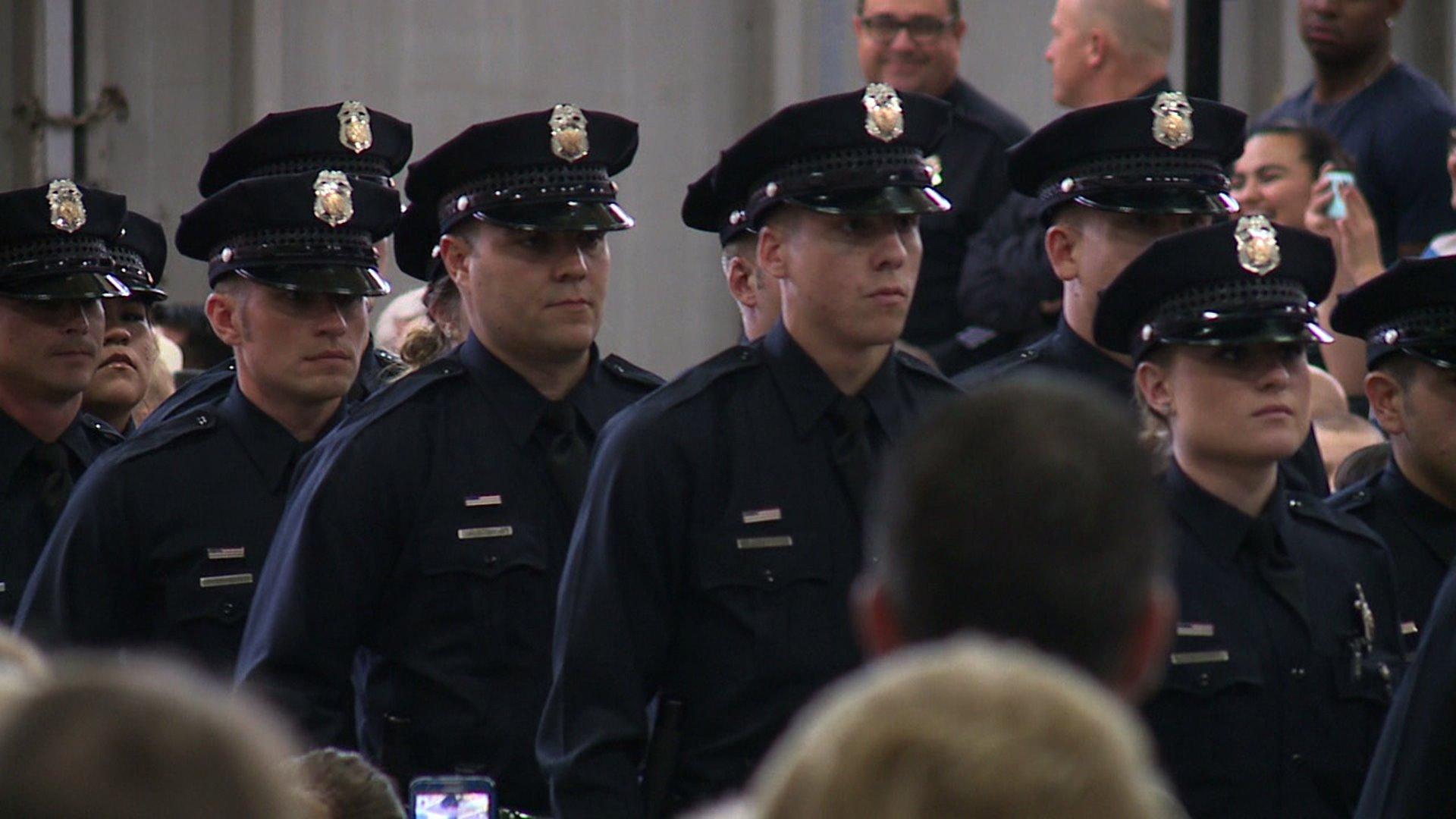 Denver Police officers sworn-in