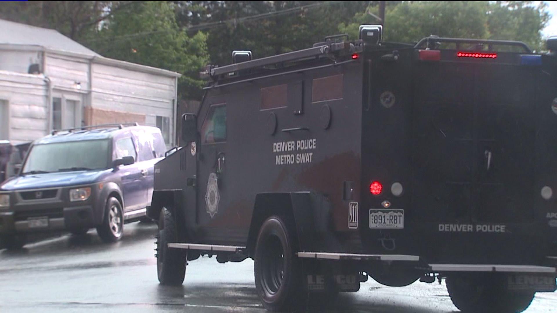 Denver SWAT vehicle