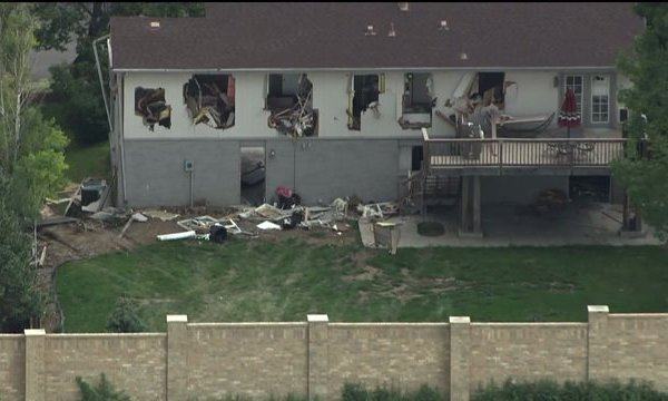 Home destroyed in Greenwood Village standoff