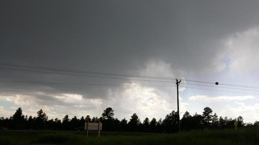 Severe Thunderstorm near Franktown