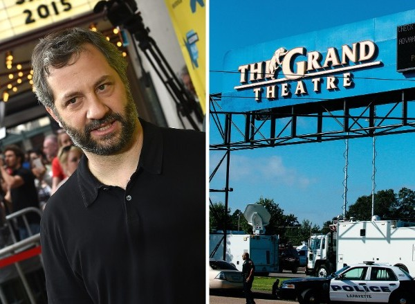 Judd Apatow 'devastated' by shooting in theater showing his movie. (Photo: CNN)