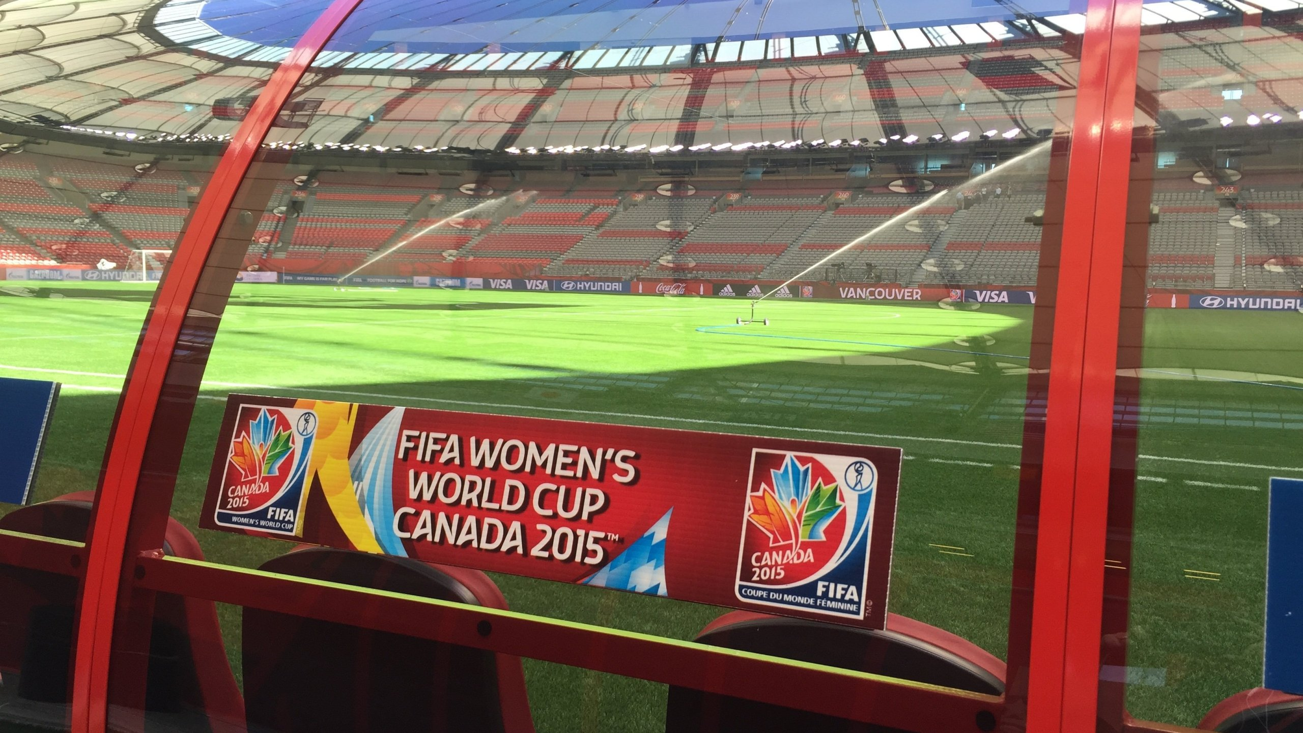 BC Place Stadium is home to the 2015 Women's World Cup Final in Vancouver, Canada. (Photo: CNN)