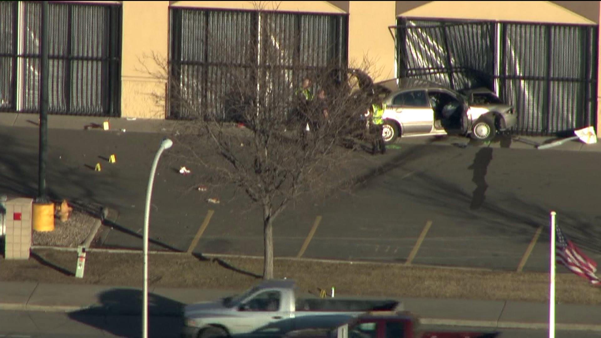 Car crashes into Wal-Mart in Lakewood, kills pedestrian