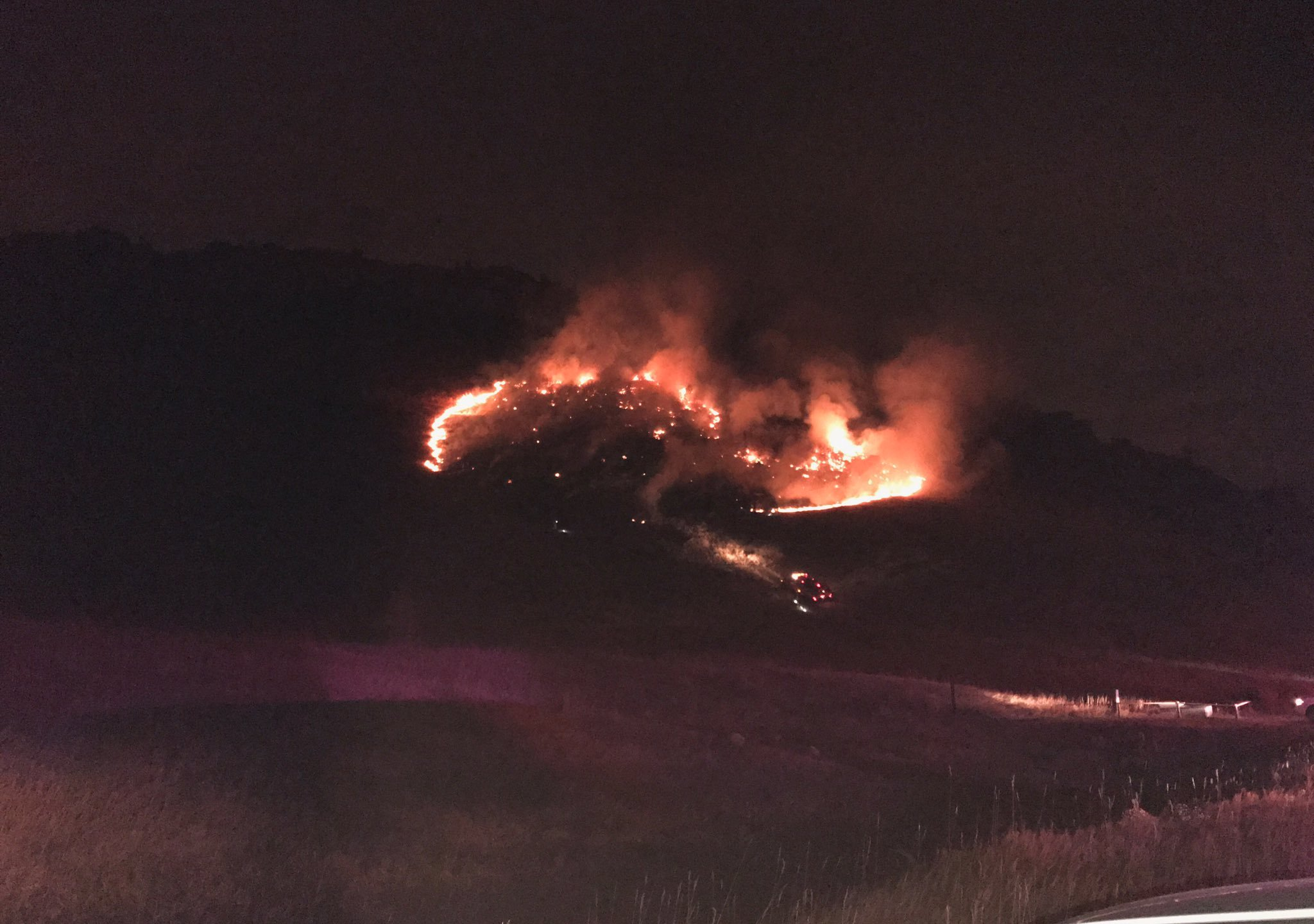 Wildfire in Ken Caryl Ranch