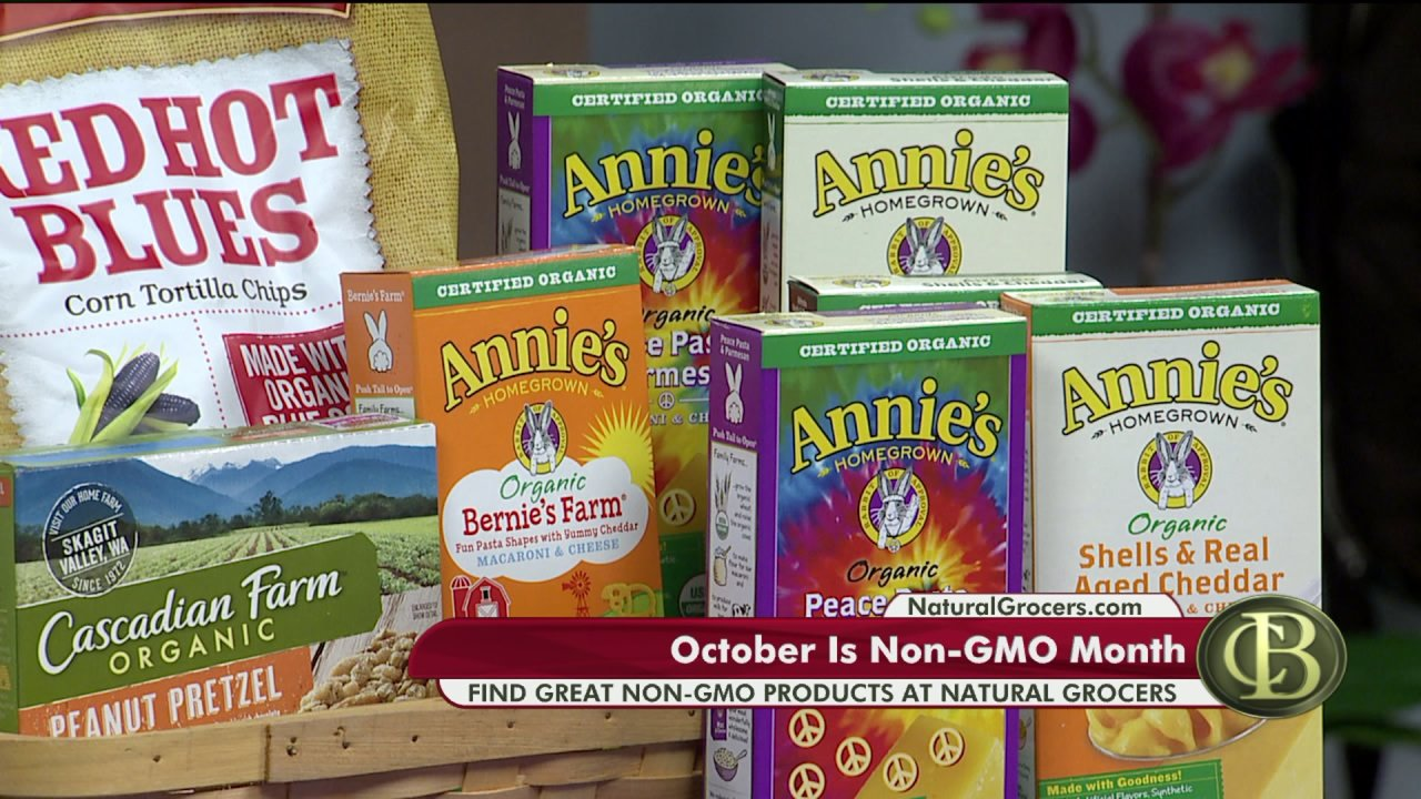 October is Non-GMO Month – Natural Grocers