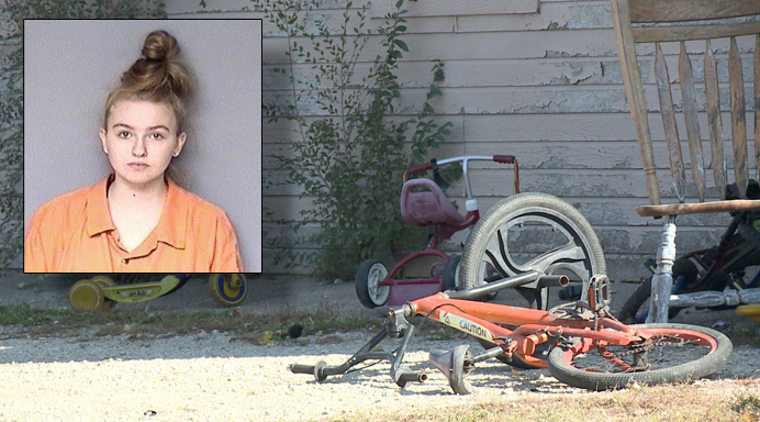 Mom charged with child endangerment after leaving 3 kids under 4 years old at home