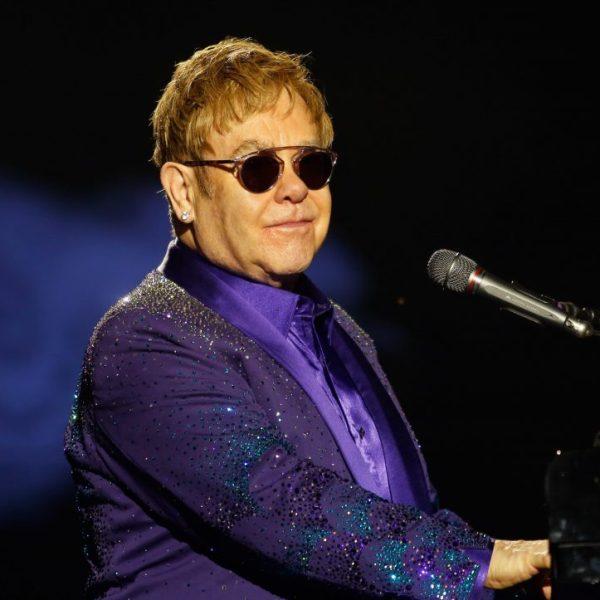 British singer and musician Sir Elton John performs at Yarkon park in the Israeli coastal city of Tel Aviv on May 26, 2016.