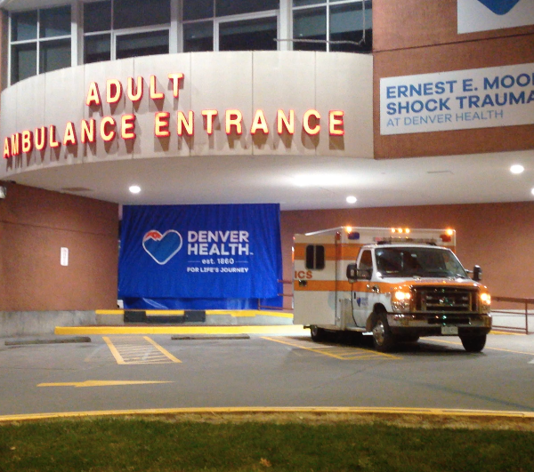 Denver Health is treating a number of critical COVID patients.