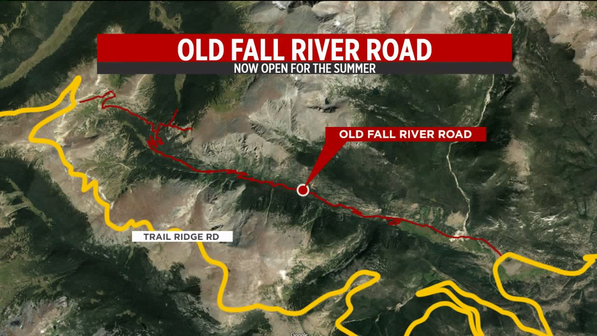 Old Fall River Road opens for the season in Rocky Mountain