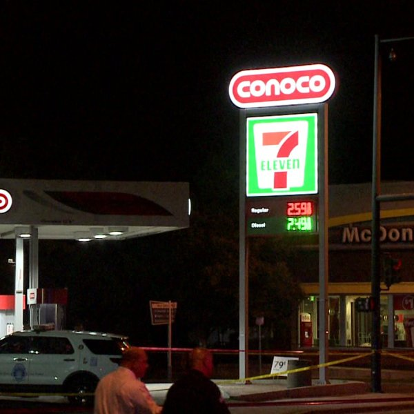 Police shot and killed a woman near this 7-Eleven on Aug. 15, 2019.