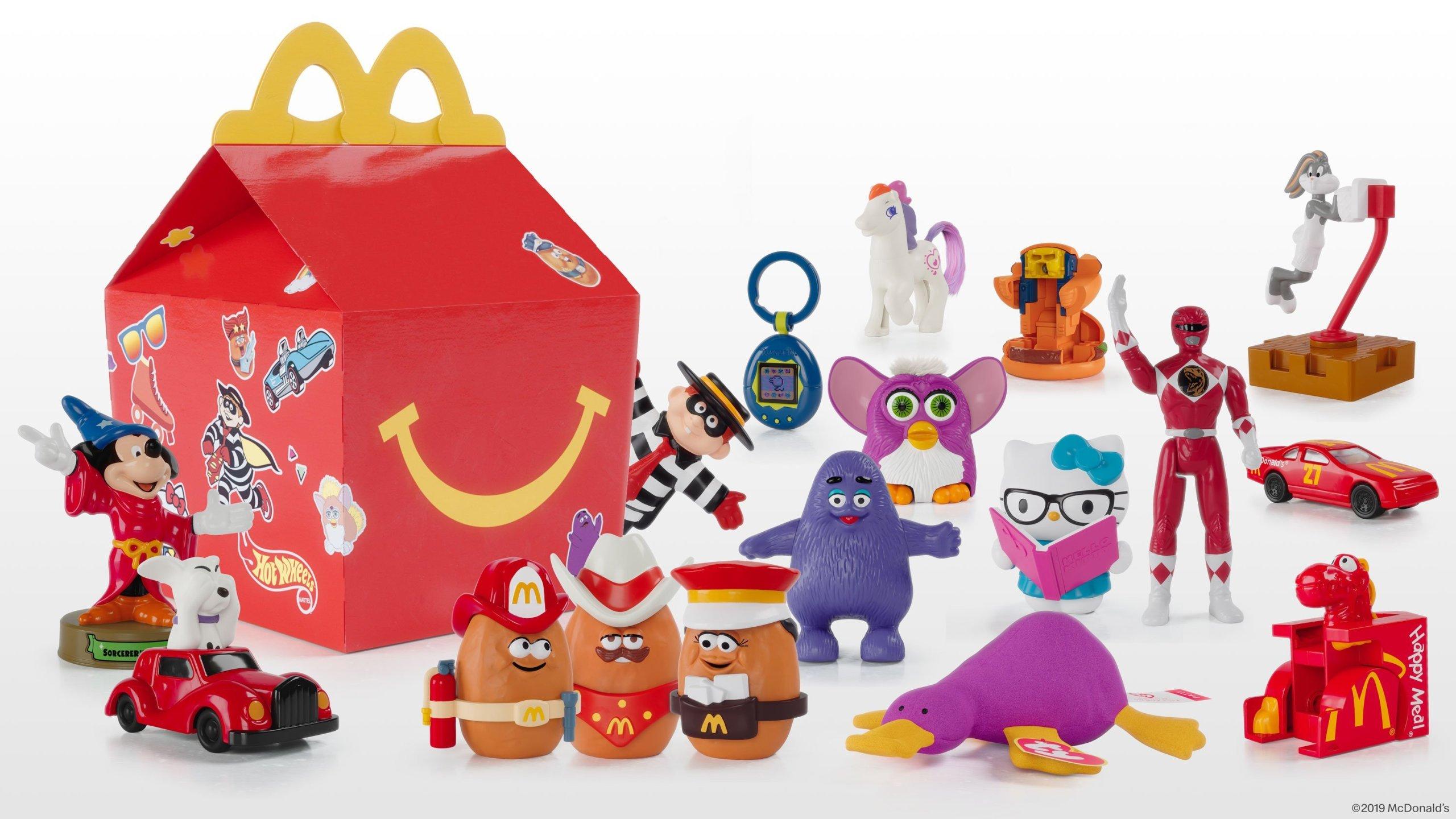 toy story 4 mcdonalds toys
