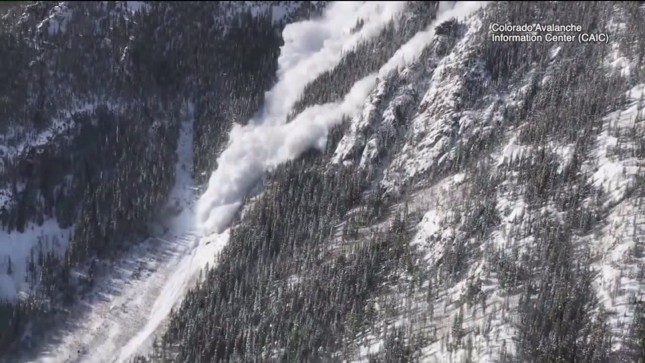 Increased risk for avalanches during busy mountain travel weekend