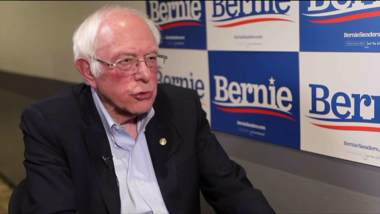 Bernie Sanders discusses 2020-Kampagne mit FOX 31 vor Super Tuesday