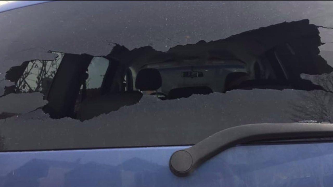 Τοπική αυτοκίνητο της μητέρας ζημιές σε Αρβαδα οδική οργή περιστατικό