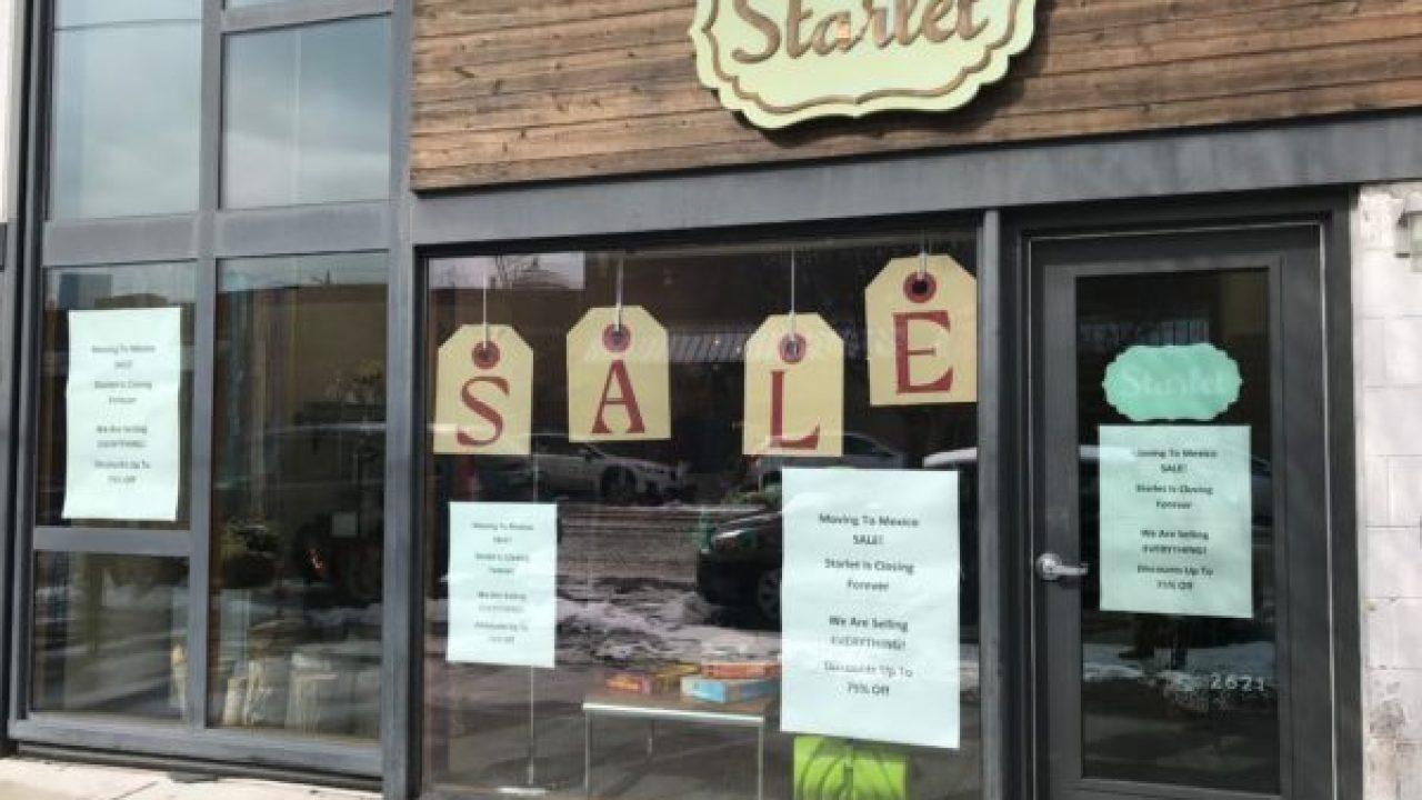 Starlet boutique penutupan lokasi terakhir setelah 15 tahun di Denver