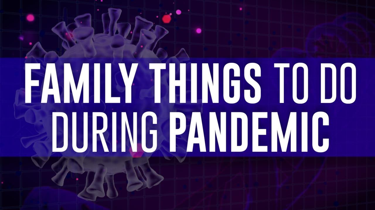 でも家庭でのパンデミックcoronavirus