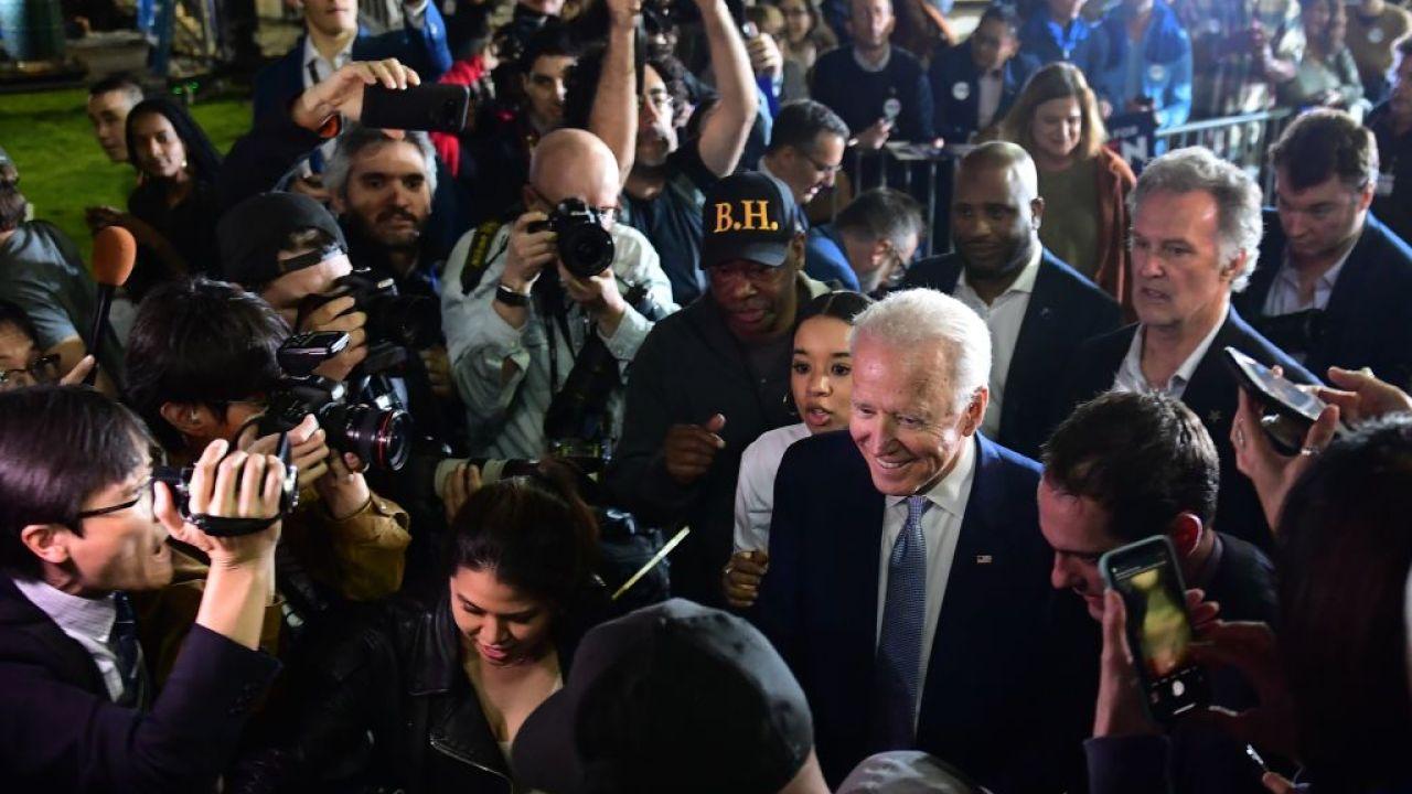 Bidenはスーパー日(火)サージ、テキサス州勝FFFブルームバーグを抑