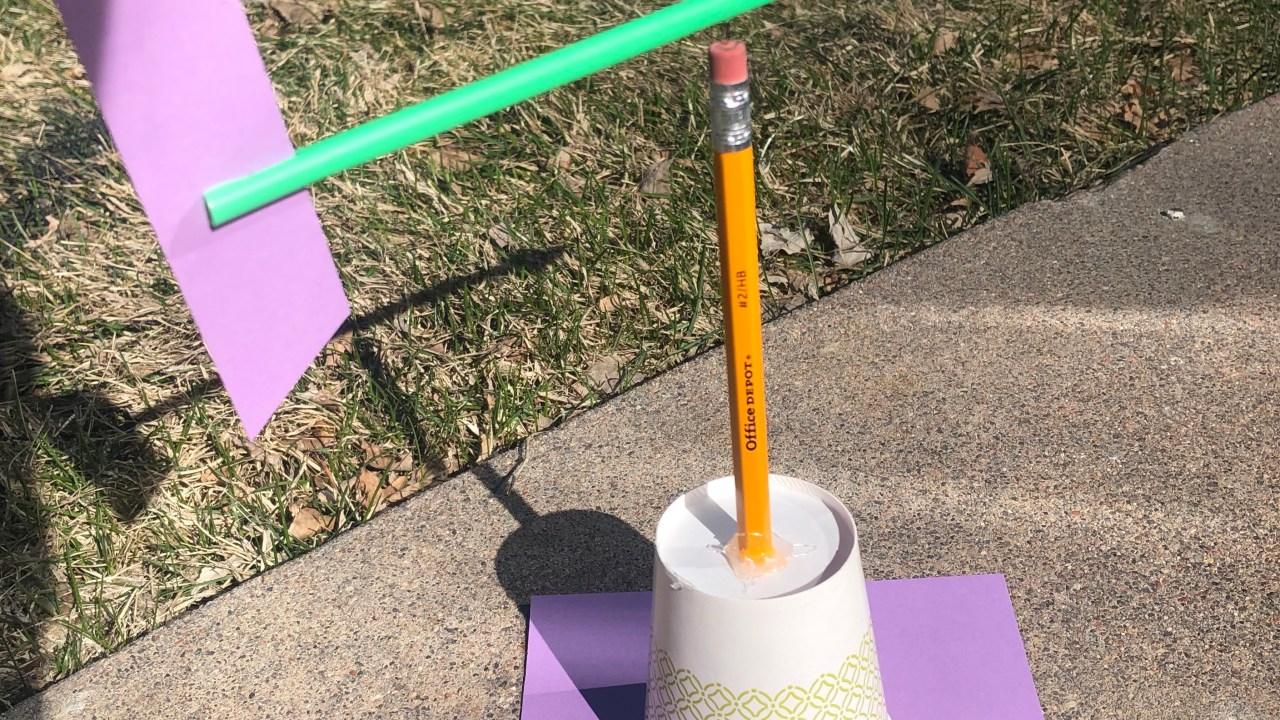 Wetter in der Heimat: DIY Wind Vane