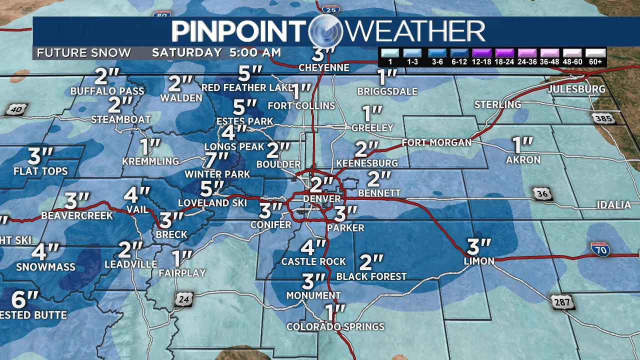 Prognose: Regen änderungen an Schnee an diesem Nachmittag, matschigen Akkumulation möglich