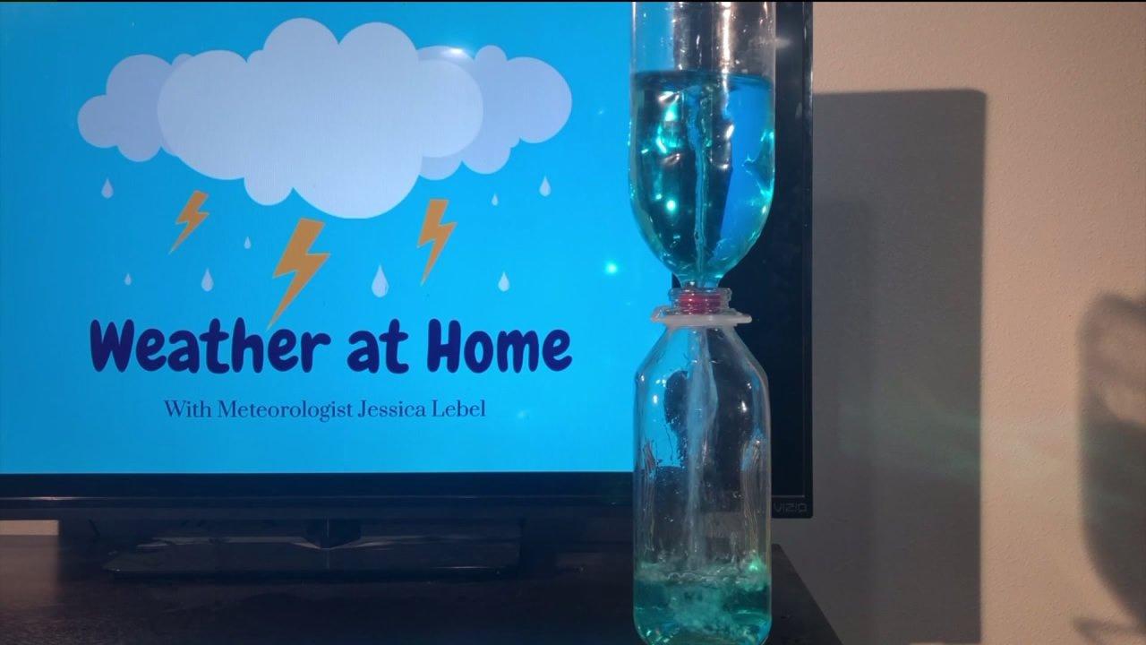 Καιρός στο Σπίτι: Πώς να δημιουργήσετε ένα tornado σε ένα μπουκάλι