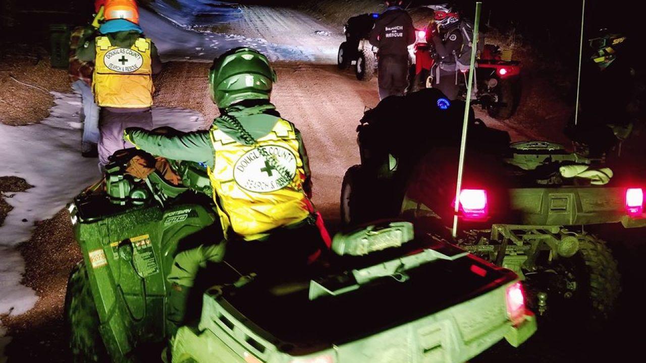 'Zu Hause bleiben'; Douglas County rescue team Fragen Warnung folgenden Rettungsaktion unverletzt ATV Fahrer