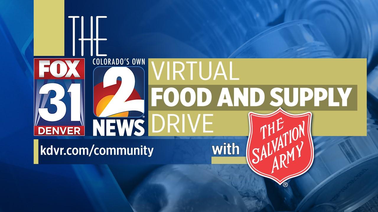 FOX31, Kanal 2 Zuschauer Spenden mehr als $210.000 an Die Heilsarmee für Lebensmittel, Vorräte
