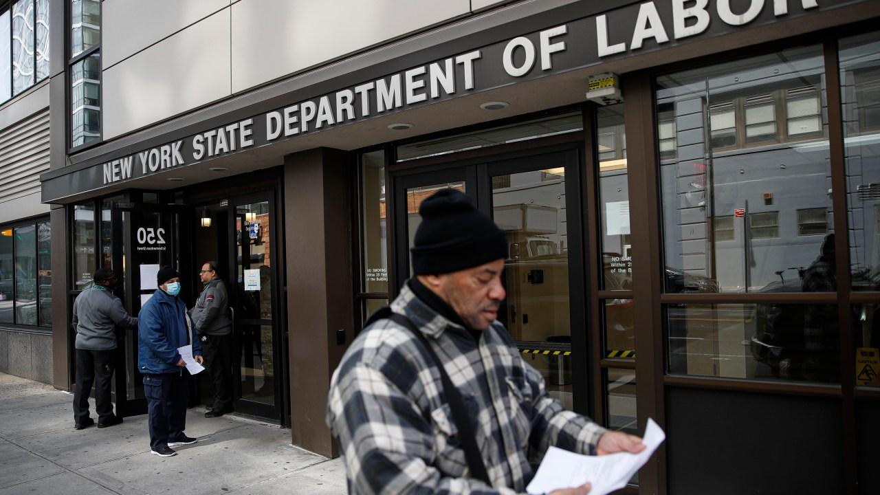 Lain 6,6 juta orang Amerika yang mengajukan tunjangan pengangguran pekan lalu