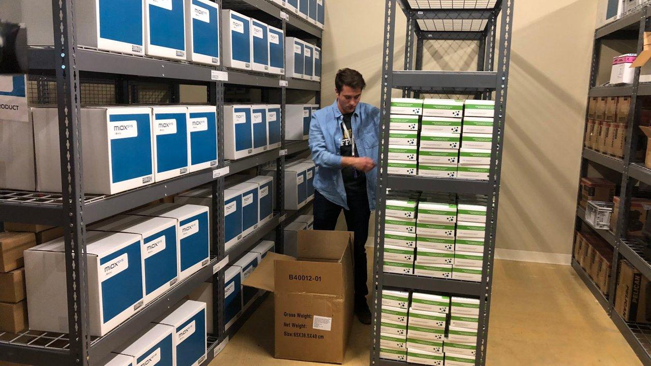 100,000 schnelle coronavirus-test-kits kommen in Englewood, Ergebnisse in 2-10 Minuten