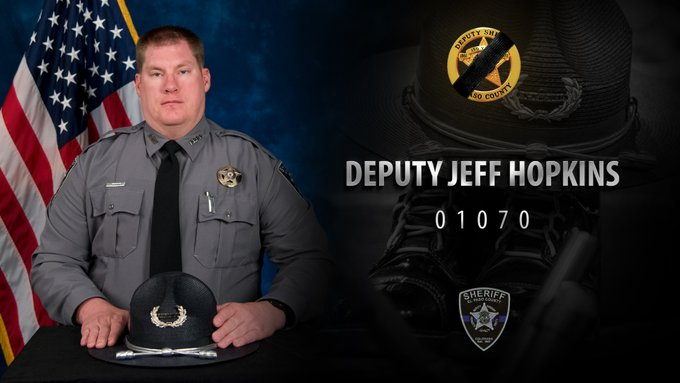 Officer Hopkins Halloween 2020 El Paso County Sheriff's Office says deputy's COVID 19 death will