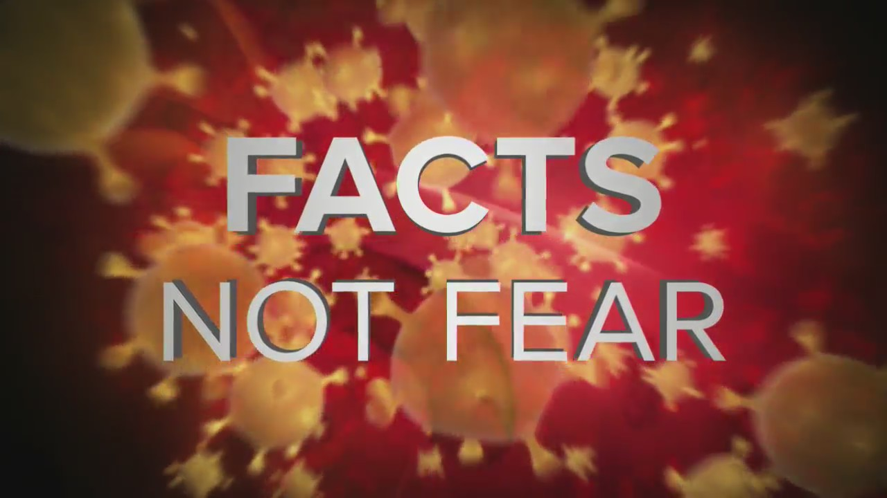 'Coronavirus: fakta-Fakta yang Tidak Takut' malam update – April 3, tahun 2020