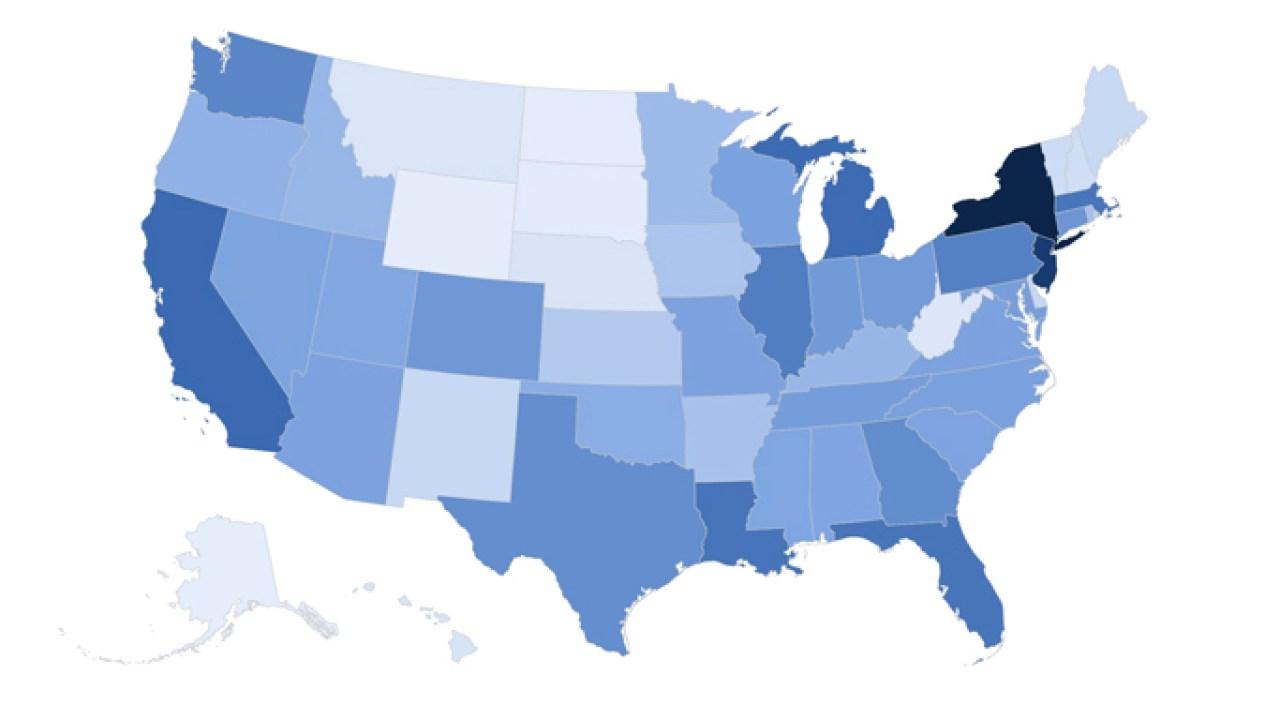 Coronavirus di AS: inilah yang terjadi jumat