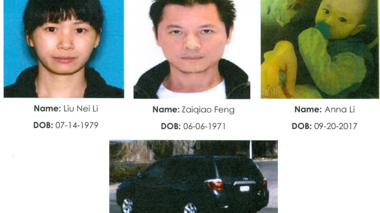 Thornton Polizei Suche nach vermissten Kleinkind, Eltern