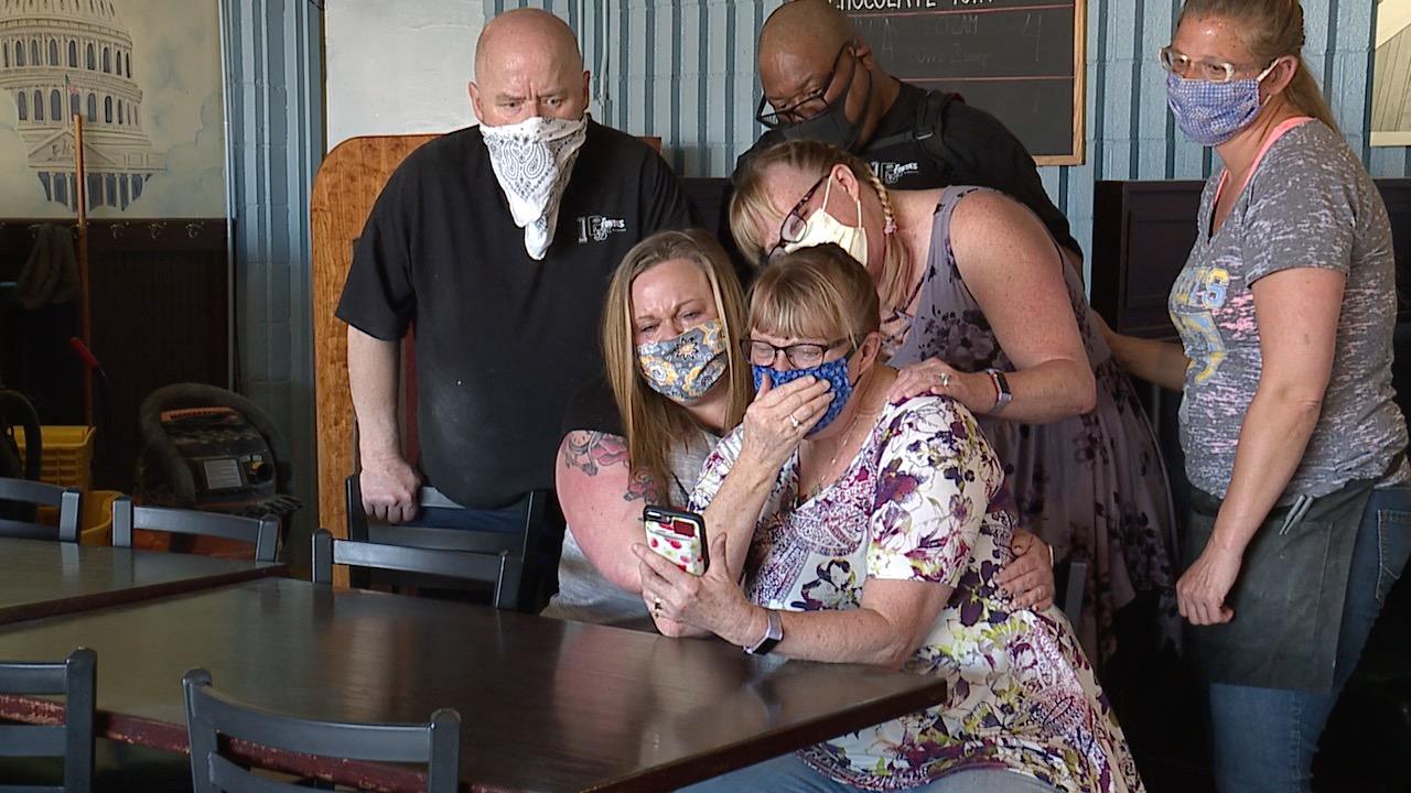 Κολοράντο βλέπει η οικογένειά του αγαπημένου κηδεία τελείωσε το FaceTime