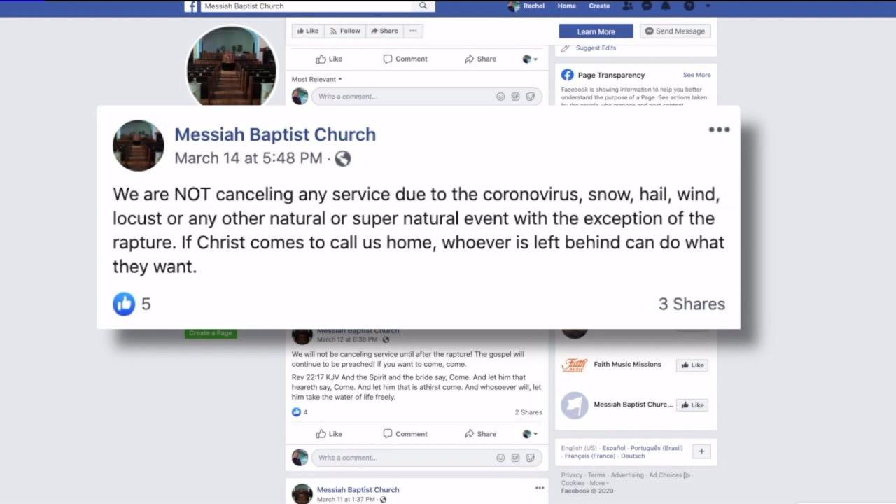 Denver gereja terus-orang jasa meskipun seluruh negara bagian pesanan