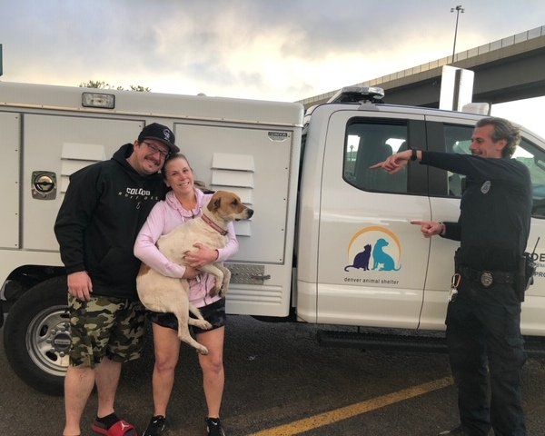 Gracie reunited with family