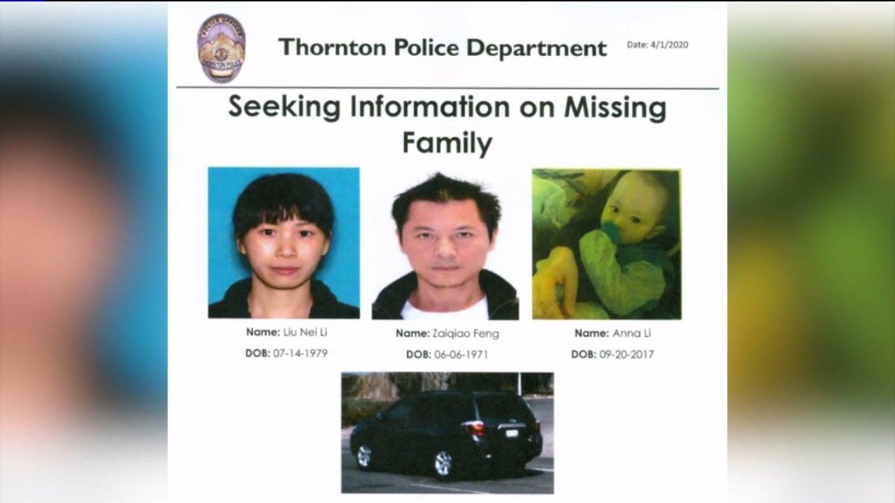 Thornton Polizei suchen weiterhin nach vermissten Familie; entdecken illegalen Marihuana wachsen in Haus