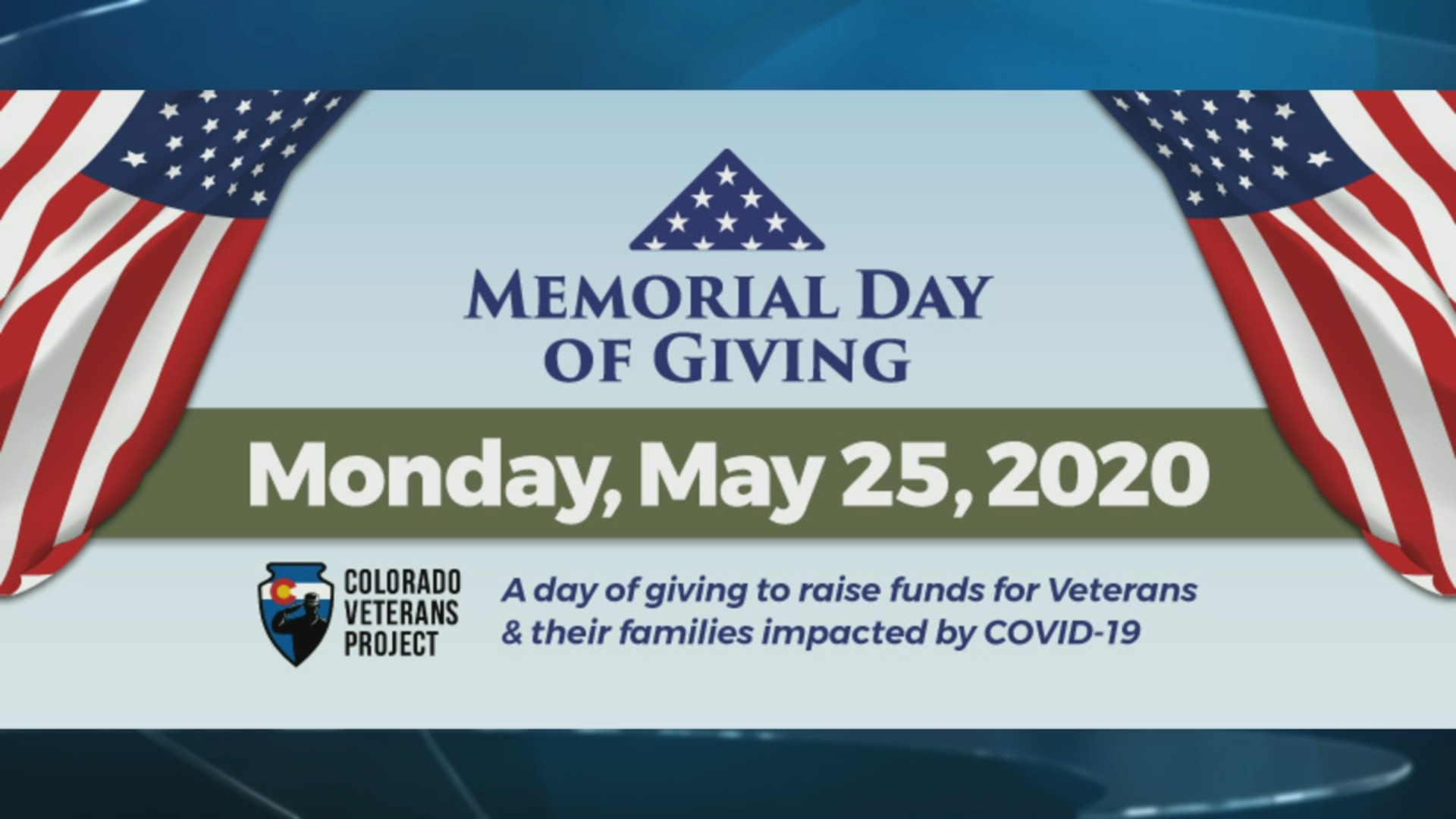 Colorado Veterans Project Memorial Day of Giving