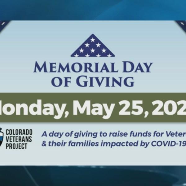 Colorado Veterans Project Memorial Day of Giving